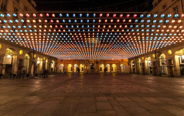 Luci d'Artista 2021/2022 a Torino: le date e la mappa delle installazioni
