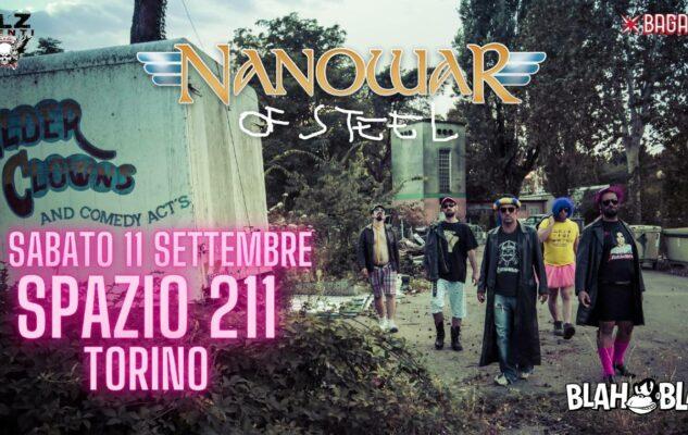 Nanowar of Steel – Live at Spazio 211 Open Air