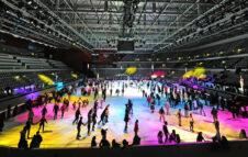 Pattinare sul ghiaccio al Palavela di Torino: riapre la pista più bella d'Italia